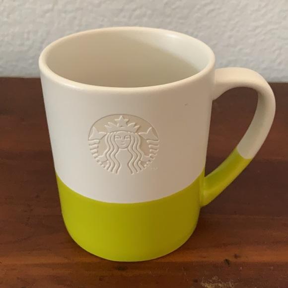 Starbucks 14 oz Green Dip mug